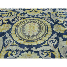 "Load image into Gallery viewer, 10'10""x13'8"" Old Spanish Savonnerie Exc Cond Hand-Knotted Oversize Rug FWR206544"
