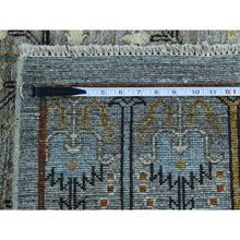 "Load image into Gallery viewer, 12'1""x15'5"" Peshawar Willow And Cypress Tree Design Handmade Oversize Rug FWR208236"