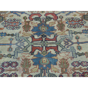 "11'x14'8"" Antique Persian Sultanabad Oversize Even Wear Oriental Rug FWR208746"