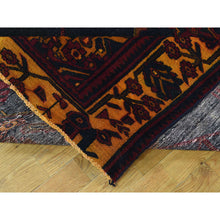"Load image into Gallery viewer, 5'1""x13'3"" Handmade Overdyed Perisan Bakhtiari Wool Wide Runner Rug FWR209136"