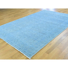 "Load image into Gallery viewer, 5'10""x9'2"" Hand-Knotted Peshawar Overdyed Pure Wool Oriental Rug FWR210018"