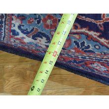 "Load image into Gallery viewer, 3'8""x13'4"" Hand-Knotted Persian Mahal Wide Runner Oriental Rug FWR210114"