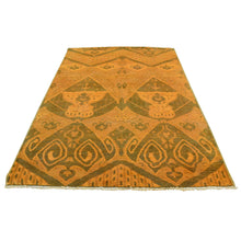 Load image into Gallery viewer, Handmade Overdyed and Vintage Orange Rug