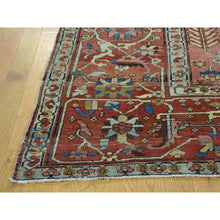 "Load image into Gallery viewer, 9'7""x12'4"" Good Condition Antique Persian Serapi Hand-Knotted Rug FWR215652"