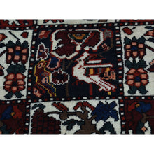 "Load image into Gallery viewer, 5'5""x9'10"" Hand-Knotted Pure Wool Bakhtiari Garden Design Wide Runner Rug FWR219084"
