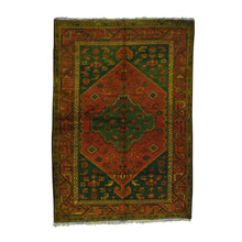 Load image into Gallery viewer, Handmade Overdyed and Vintage Red Rug