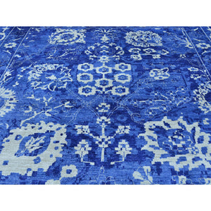 "12'3""x18'4"" Oversize Hand-Knotted Wool And Silk Tone on Tone Tabriz Rug FWR221202"