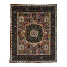Load image into Gallery viewer, Handmade Mamluk Red Rug