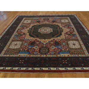 "8'1""x10' Peshawar with Mamluk Design Hand-Knotted Pure Wool Oriental Rug FWR221610"