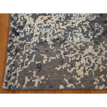 Load image into Gallery viewer, 9'x11'8'' Hand-Knotted Wool and Silk Abstract Design Modern Rug FWR222852