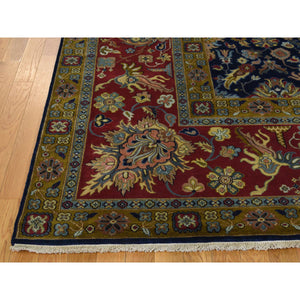 9'1''x12'2'' 300KPSI New Zealand Wool Hand-Knotted Oriental Rug FWR223224