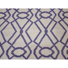 Load image into Gallery viewer, 2'6''x6' Hand Woven Runner Durie Kilim Flat Weave Reversible Rug FWR223872