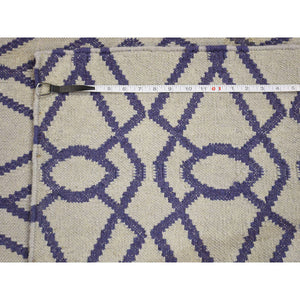 2'6''x6' Hand Woven Runner Durie Kilim Flat Weave Reversible Rug FWR223872