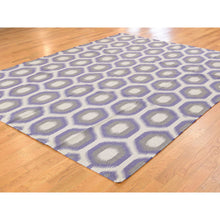 Load image into Gallery viewer, 8'10''x12'2'' Durie Kilim Flat Weave Hand Woven Reversible Pure Wool Rug FWR227274