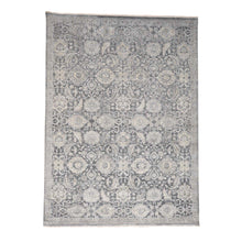 Load image into Gallery viewer, Handmade Oushak And Peshawar Grey Rug