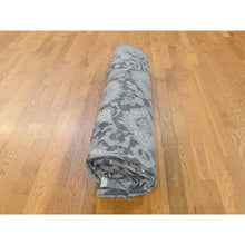Load image into Gallery viewer, 9'x12'2'' Silk With Textured Wool Hand Knotted Oushak Influence Oriental Rug FWR232362