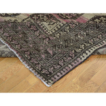 Load image into Gallery viewer, 7'5''x9'8'' Vintage Afghan Elephant Feet Design Abrash Hand-Knotted Rug FWR233358