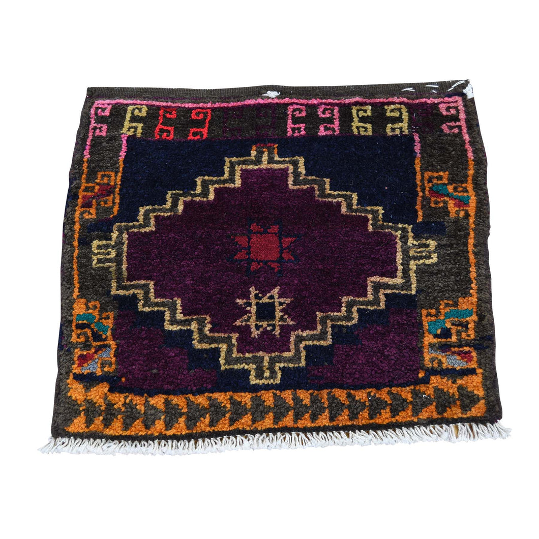 Handmade Persian Purple Rug