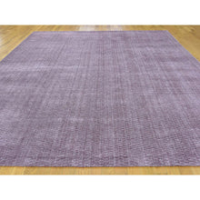 "Load image into Gallery viewer, 9'1""x12' Hand-Loomed Tone on Tone Pure Wool Oriental Rug FWR238776"