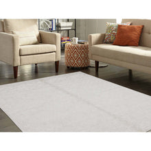 "Load image into Gallery viewer, 5'1""x7'1"" Hand-Loomed Pure Wool Tone on Tone Oriental Rug FWR238956"