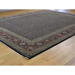 "11'10""x15' Hand-Knotted Herati All Over Design Pure Wool Oversize Oriental Rug FWR240558"