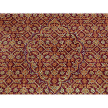 "Load image into Gallery viewer, 2'8""x16' Kashan Tone On Tone XL Runner Hand Knotted Oriental Rug FWR242592"