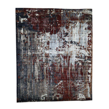 Load image into Gallery viewer, Handmade Modern and Contemporary Red Rug