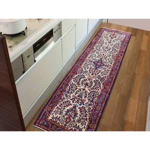 "2'8""x11' New Persian Lilahan Runner Hand-Knotted Oriental Oriental Rug FWR255480"