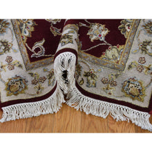 "Load image into Gallery viewer, 2'7""x14'1"" Rajasthan Half Wool Half and Silk Hand-Knotted Runner Oriental Rug FWR255990"