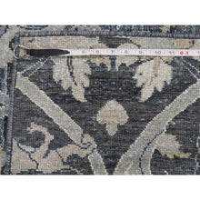 "Load image into Gallery viewer, 6'x9'5"" Silk With Textured Wool Hunting Design Hand-Knotted Oriental Rug FWR259476"