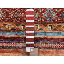 "Load image into Gallery viewer, 5'x6'10"" Khorjin Design Super Kazak Hand-Knotted Pure Wool Oriental Rug FWR261132"