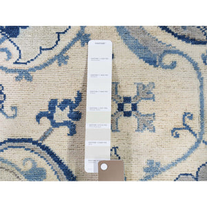 "8'x9'9"" Arts & Craft Design Vintage Look Pure Wool Hand-Knotted Oriental Rug FWR262062"