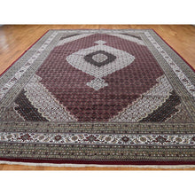 Load image into Gallery viewer, 10'x16' Tabriz Mahi Oversize Wool and Silk Hand Knotted Oriental Rug FWR262290
