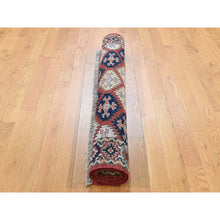 "Load image into Gallery viewer, 4'x5'7"" Afghan Ersari Repetitive Design Hand Knotted Oriental Rug FWR263838"