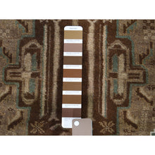 "Load image into Gallery viewer, 3'x4'8"" Vintage Afghan Baluch Natural Color Hand-Knotted Pure Wool Oriental Rug FWR266184"