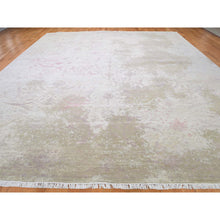 "Load image into Gallery viewer, 12'x15'6"" Oversize Wool And Silk With Touch Of Pink Hand-Knotted Oriental Rug FWR266406"
