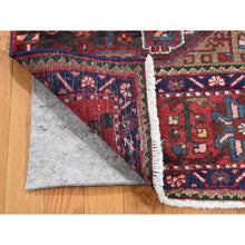 "Load image into Gallery viewer, 3'6""x4'10"" Vintage Persian Nahavand Sampler Pure Wool Hand-Knotted Oriental Rug FWR266730"