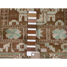 "Load image into Gallery viewer, 2'9""x3'9"" Vintage Afghan Baluch Natural Colors Hand-Knotted Pure Wool Oriental Rug FWR266952"