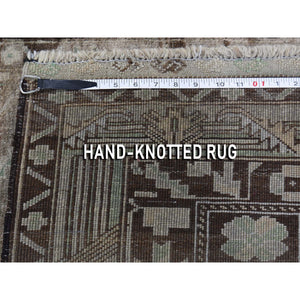 "2'9""x3'9"" Vintage Afghan Baluch Natural Colors Hand-Knotted Pure Wool Oriental Rug FWR266952"