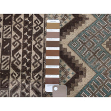 "Load image into Gallery viewer, 2'9""x4'5"" Vintage Afghan Baluch Natural Colors Hand-Knotted Pure Wool Oriental Rug FWR266982"