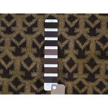 "Load image into Gallery viewer, 3'8""x6'4"" Vintage Afghan Baluch Natural Colors Hand-Knotted Pure Wool Oriental Rug FWR267006"