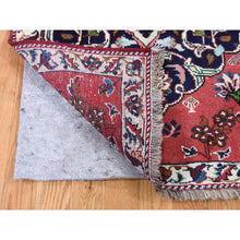 "Load image into Gallery viewer, 2'6""x3'9"" Persian Karabakh Pure Wool Hand-Knotted Oriental Rug FWR267102"