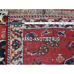 "2'6""x3'9"" Persian Karabakh Pure Wool Hand-Knotted Oriental Rug FWR267102"