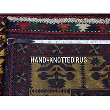 "Load image into Gallery viewer, 3'x10'2"" Afghan Khamyab Vegetable Dyes Pure Wool Hand-Knotted Runner Oriental Rug FWR267114"