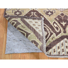 "Load image into Gallery viewer, 8'1""x10' kat Tribal and Geometric Design Pure wool Hand Knotted Oriental Rug FWR267156"