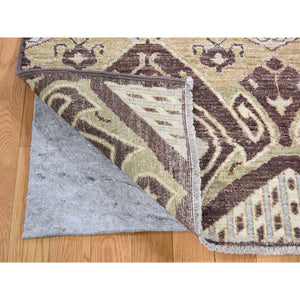 "8'1""x10' kat Tribal and Geometric Design Pure wool Hand Knotted Oriental Rug FWR267156"