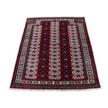 Load image into Gallery viewer, Handmade Tribal and Geometric Red Rug