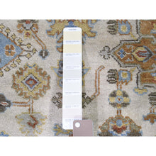 "Load image into Gallery viewer, 8'10""x11'10"" Karajeh Design Pure Wool Hand-Knotted Oriental Rug FWR267696"