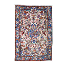 Load image into Gallery viewer, Handmade Persian Ivory Rug