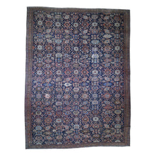 Load image into Gallery viewer, Handmade Antique Blue Rug